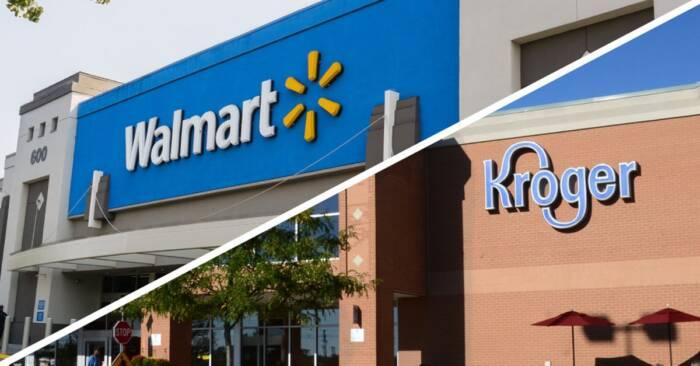 As redes Kroger e Walmart veras de novas contratações e contratarão pelo menos mais 20 mil
