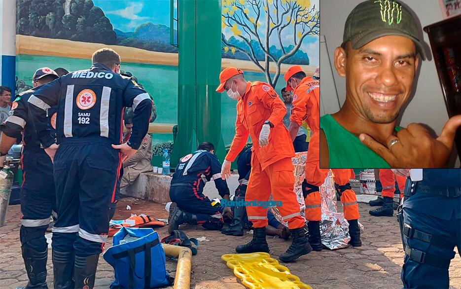 Vídeo: trabalhador morre em caixa d'água ao tentar resgatar amigo em Porto Velho