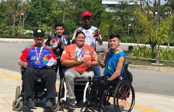 Atletas de Blumenau conquistam 10 medalhas nas Paralimpíadas Universitárias