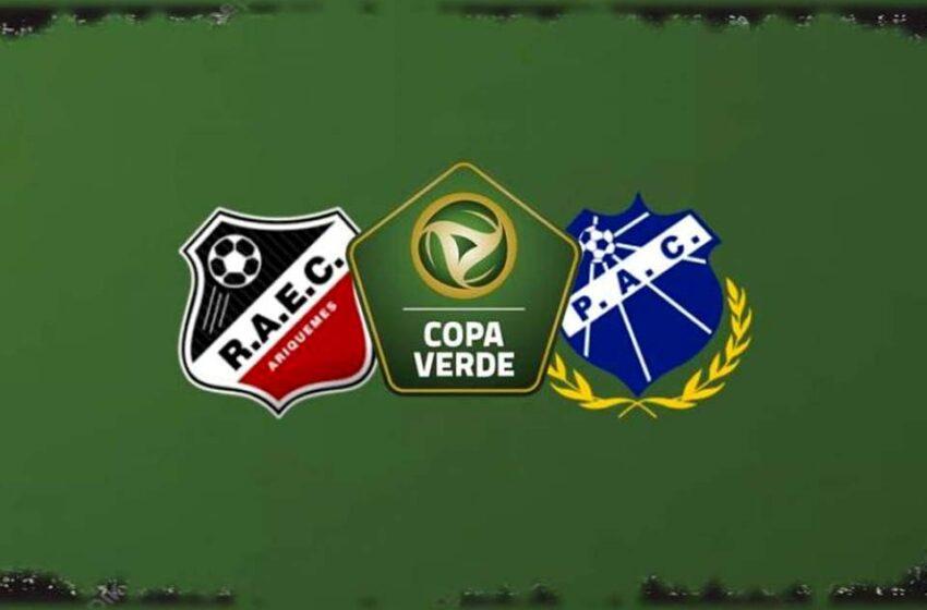 No Estádio Gentil Valério, Real Ariquemes recebe hoje o Penarol-AM pela primeira fase da Copa Verde 2021