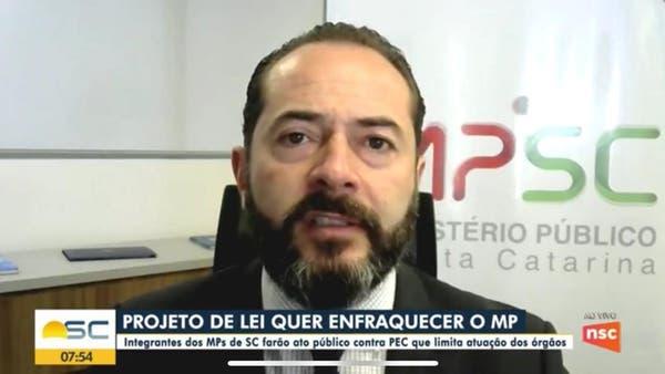 """""""Revanchismo"""", diz MPSC sobre PEC que pode enfraquecer investigações"""