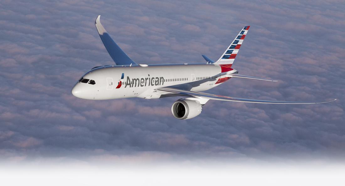 American Airlines aumenta frequências do Rio de Janeiro e de São Paulo