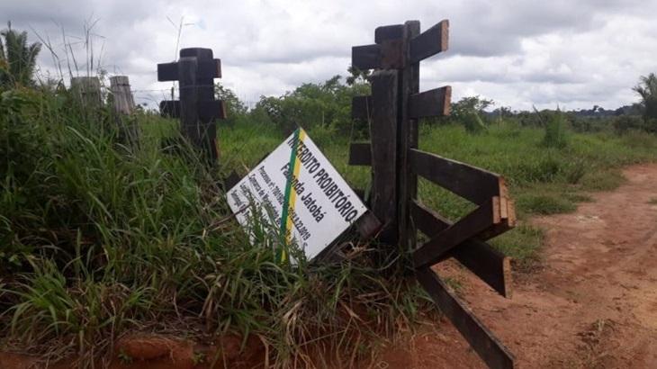 MACHADINHO: Mulher é presa e dois invasores fogem durante a operação da PM na Fazenda Jatobá