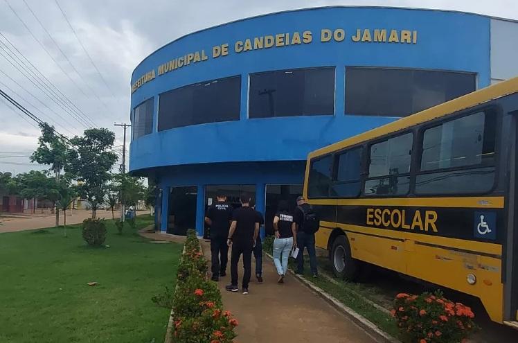 Prefeito de Candeias do Jamari é alvo de operação da Polícia Civil