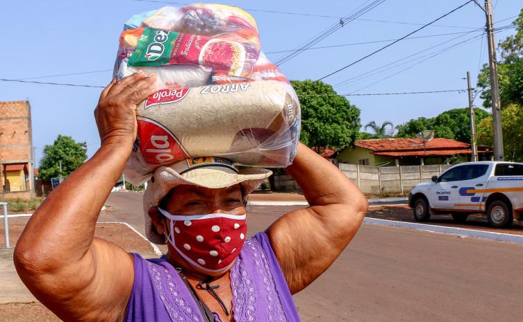Governo do Tocantins atende 9,4 mil famílias impactadas pela pandemia em 22 municípios