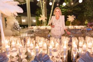 Arquiteta de eventos na Flórida: fala de sofisticação em grandes festas.