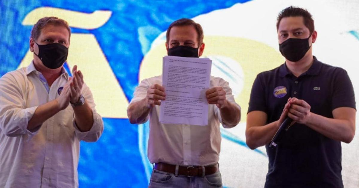 Doria recebe apoio de 98% dos prefeitos paulistas para as prévias tucanas