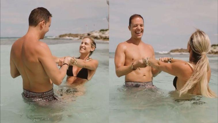 Web detona André Valadão por postar vídeo na praia com a esposa