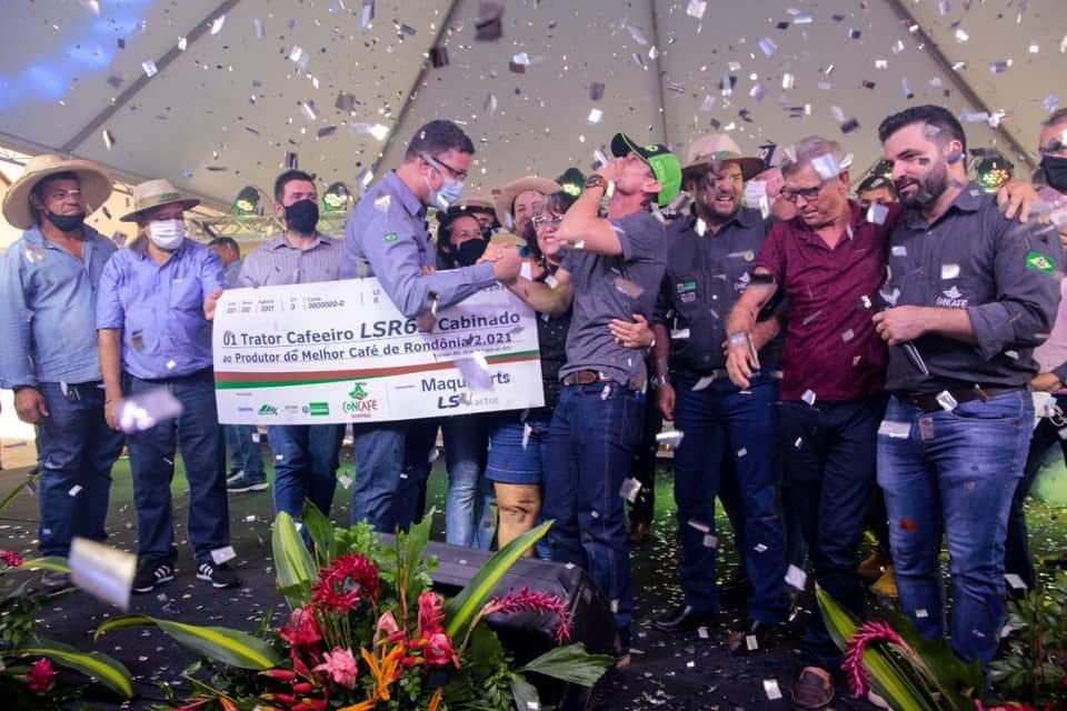 Melhores cafés de Rondônia são premiados na 6ª edição do Concurso de Qualidade e Sustentabilidade