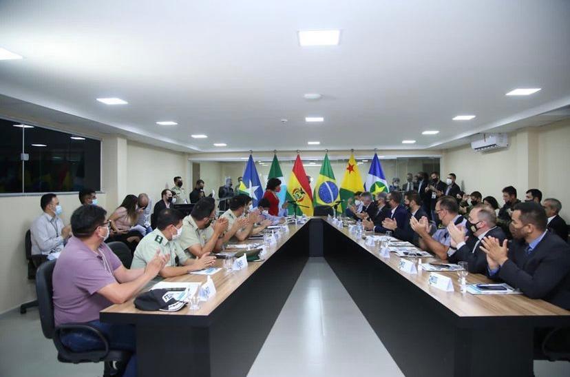 Rondônia participa de encontro para debater objetivo de segurança na fronteira