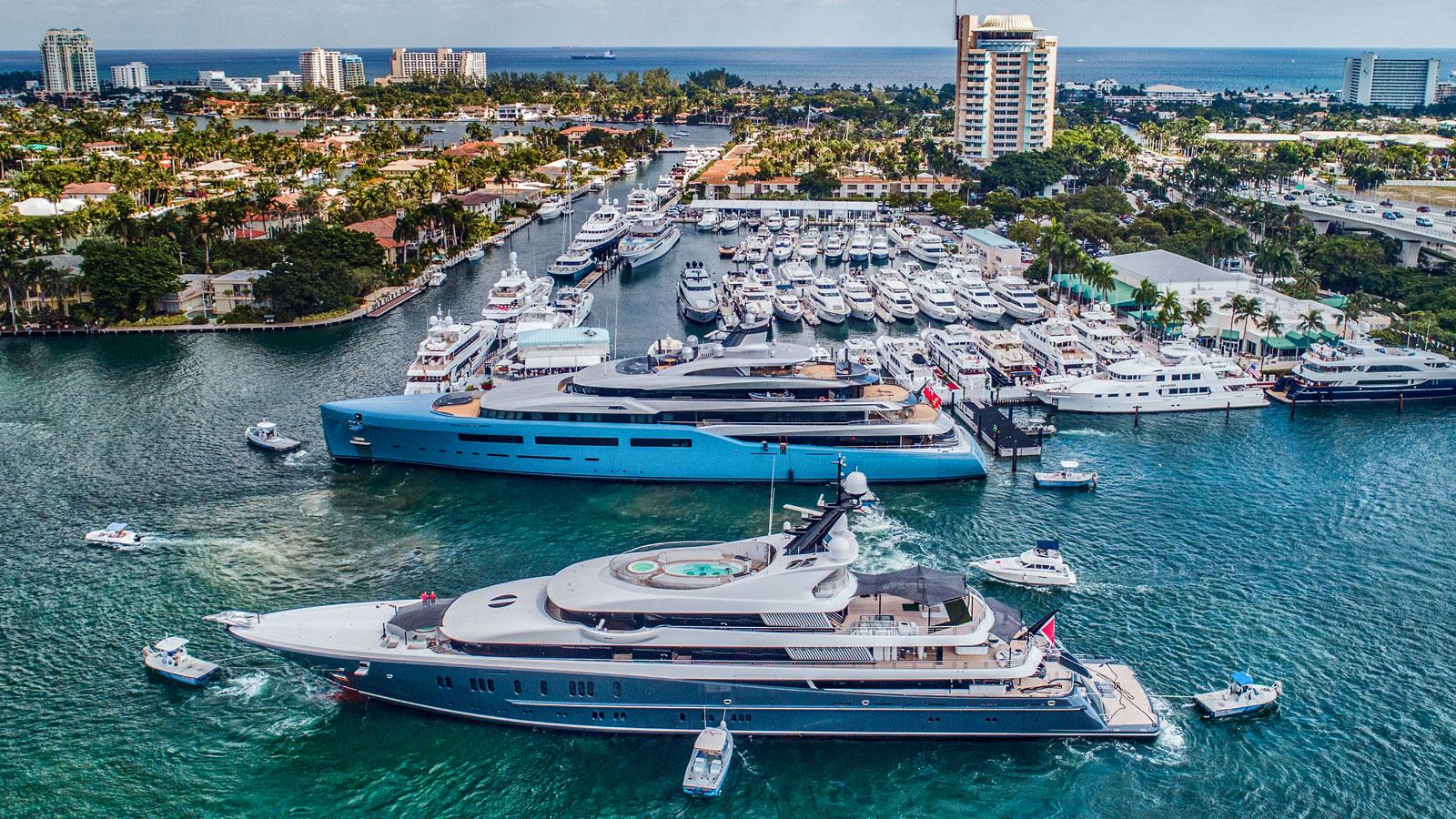 Fort Lauderdale International Boat Show 2021 será de 27 a 31 de outubro