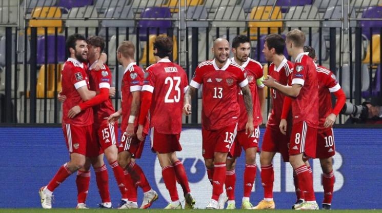 Seleção Russa bem-definida para a Copa do Mundo de 2022