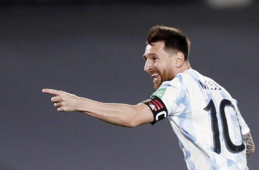 Messi entra para o Top-5 de maiores artilheiros de seleções e exalta evolução da Argentina